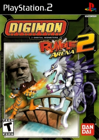 PS2 - Digimon Rumble Arena 2 Box Art Front