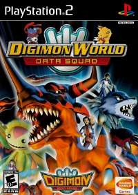 PS2 - Digimon World Data Squad Box Art Front