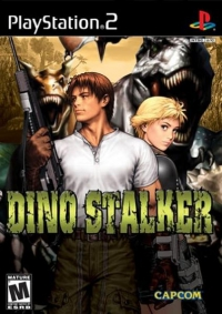 PS2 - Dino Stalker Box Art Front