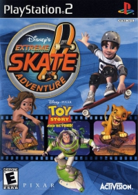 PS2 - Disney's Extreme Skate Adventure Box Art Front