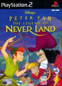 PS2 - Disney's Peter Pan  The Legend of Neverland Box Art Front