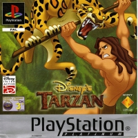 PSX - Disney's Tarzan Box Art Front