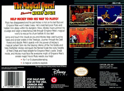 The Magical Quest Starring Mickey Mouse | SNES